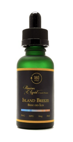 Island Breeze E-Liquid 30mL by 180 Smoke Shop 18MG NICOTINE - 420 Hippy Inc