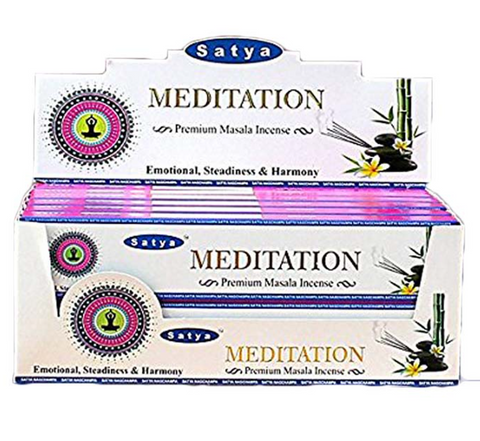 Satya Meditation Premium Incense 15 Gm - 420 Hippy Inc