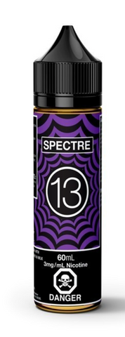 SPECTRE E-LIQUID BY 13TH FLOOR ELEVAPORS - 60ML 3mg nicotine - 420 Hippy Inc