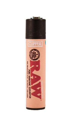 RAW Clipper Refillable Lighter - 420 Hippy Inc