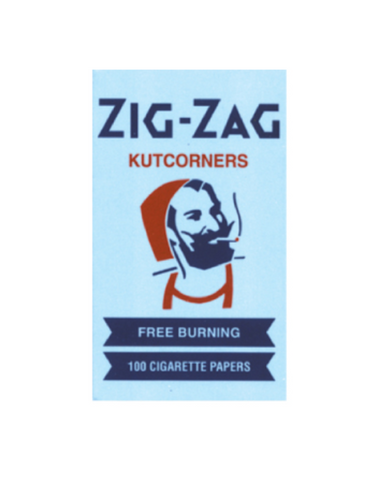 Zig-Zag Blue KUTKORNERS - 420 Hippy Inc