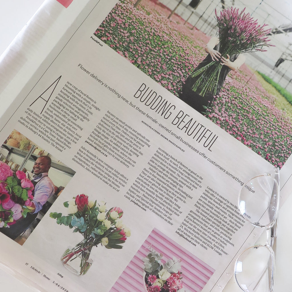 Julep featured in the Sunday Times Lifestle