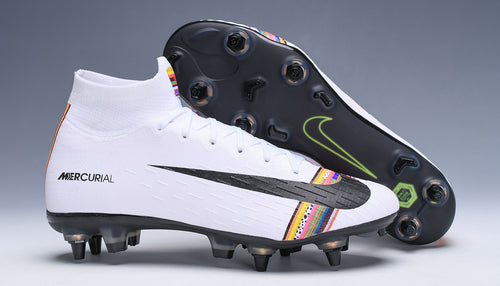 Chuteira nike mercurial LVL UP  trava mista