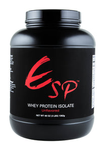 ESP™ Whey Protein Isolate - Unflavored (3 lbs)