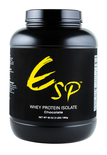 ESP™ Whey Protein Isolate - Chocolate (3 lbs)