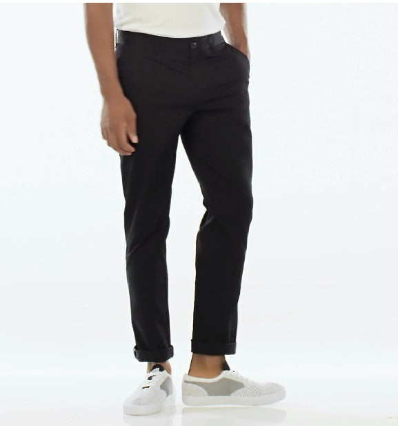 PREMIUM SLIM FIT CHINO IN TRUE BLACK