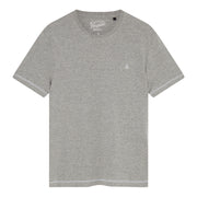 Coverstitch T-Shirt In Rain Heather