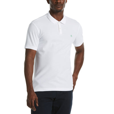 Eco Daddy Polo Shirt In Natural White