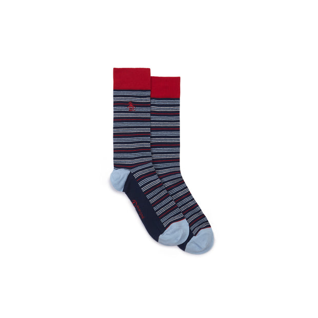 Socks And Underwear Gift Set In Dress Blues