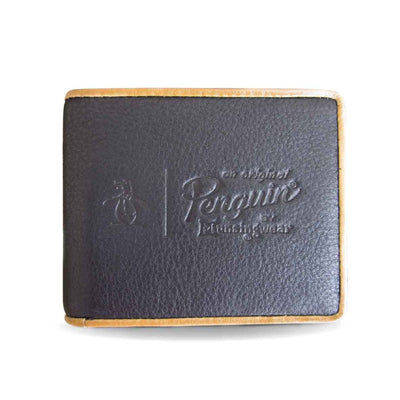 EMBOSSED WALLET IN TRUE BLACK