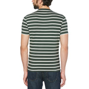 BRETON STRIPED T-SHIRT IN DARKEST SPRUCE