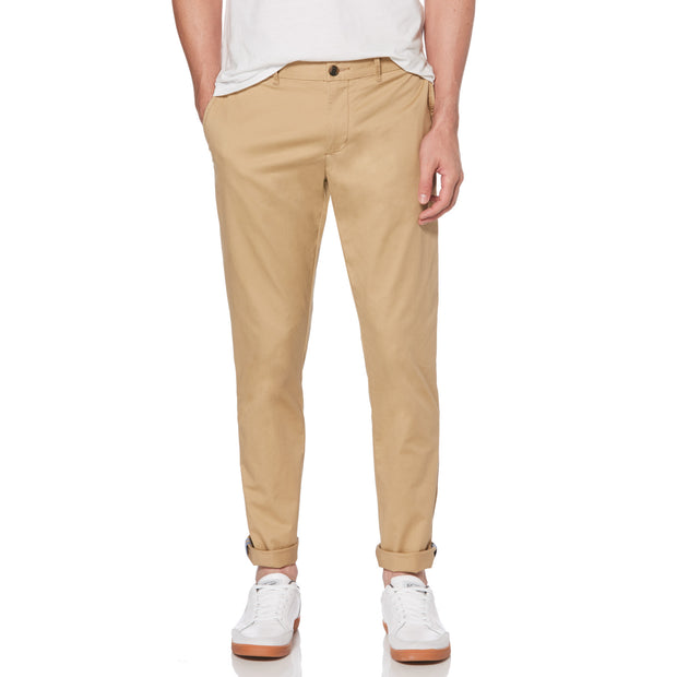 Premium Slim Fit Chino In Kelp