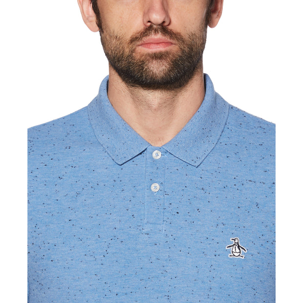 Donegal Daddy Polo Shirt In Azure Blue