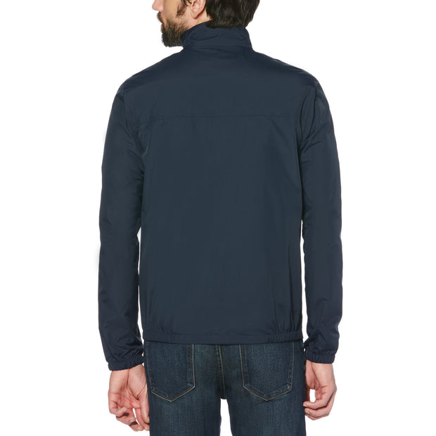 Sticker Pete Windcheater Jacket In Dark Sapphire