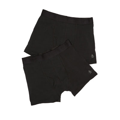 2 Pack Key Hole Trunks In True Black