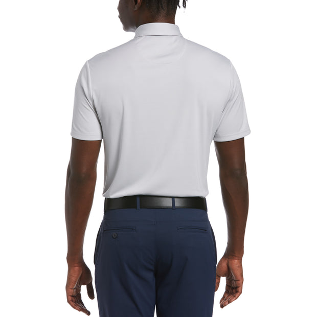 Birdseye Golf Polo In Bright White