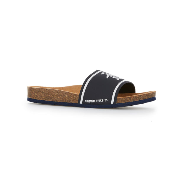 Preen Slider Sandal In Navy