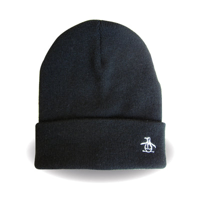 PREZ BEANIE IN TRUE BLACK