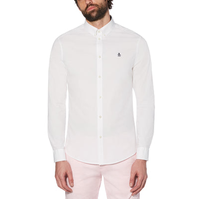POPLIN SHIRT IN BRIGHT WHITE