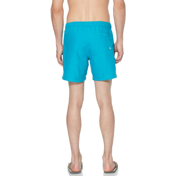 Quick Dry Daddy Swim Shorts In Caribbean Sea