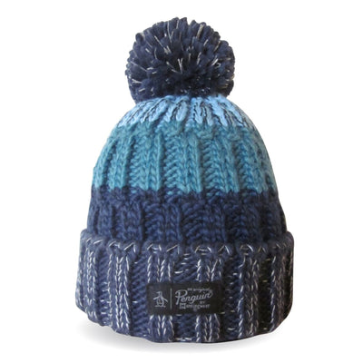 BERG BOBBLE HAT IN DRESS BLUES