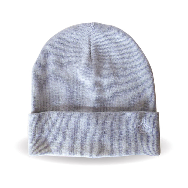 PREZ BEANIE IN SILVER CLOUD