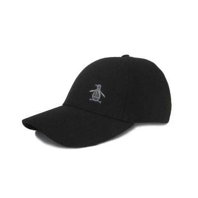 Melton Pete Cap In True Black
