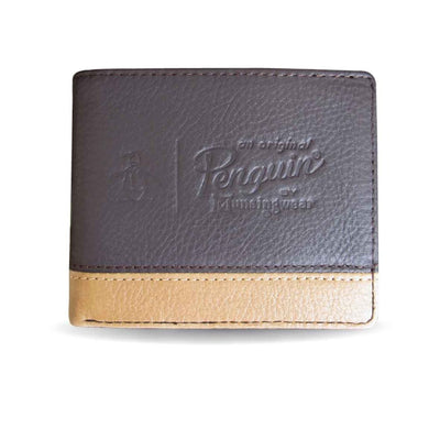VISION LEATHER WALLET IN BROWN