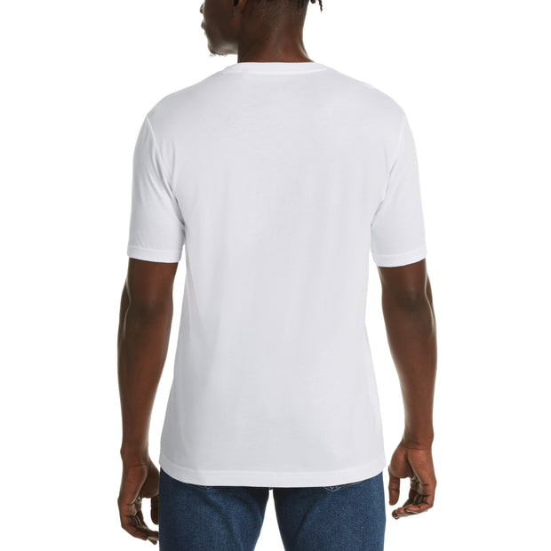 JERSEY POCKET T-SHIRT IN BRIGHT WHITE