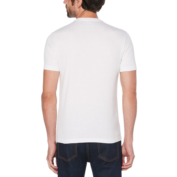 Script Logo Graphic T-Shirt In Bright White