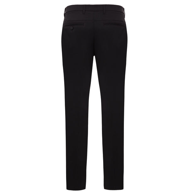 Herringbone Golf Trousers In In Caviar