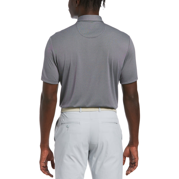 Birdseye Golf Polo In Black Iris