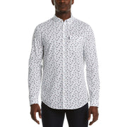 Horse Print Shirt In Bright White