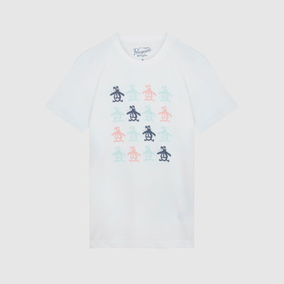 Pixel Pete Graphic T-Shirt In Bright White