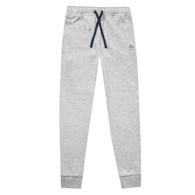 Teen Sticker Pete Jogger In Dark Grey Marl