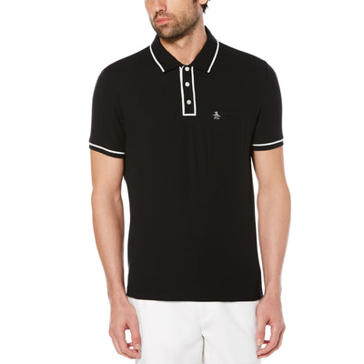 The Earl Polo Shirt In True Black