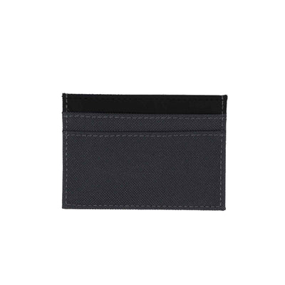 COLOUR BLOCK CARD HOLDER IN TRUE BLACK