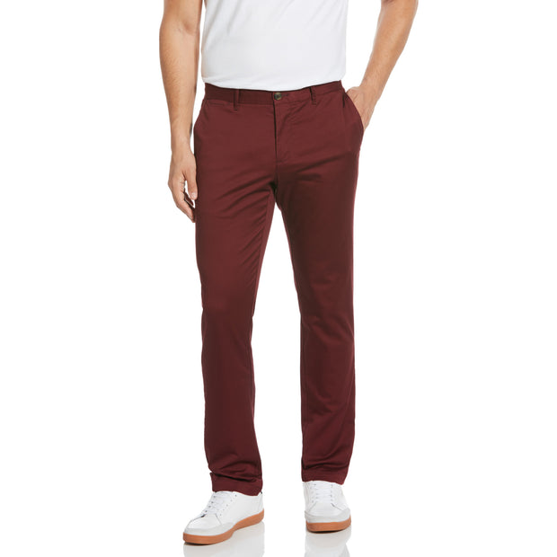 Premium Slim Fit Chino In Tawny Port