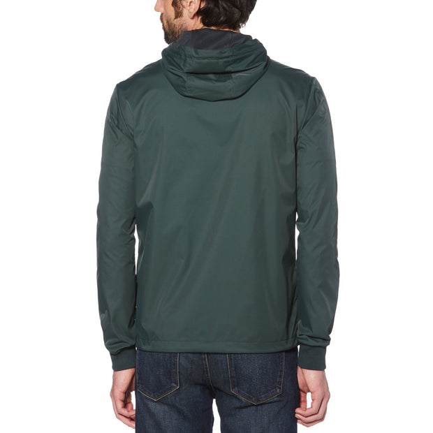 HOODED RATNER JACKET IN DARKEST SPRUCE