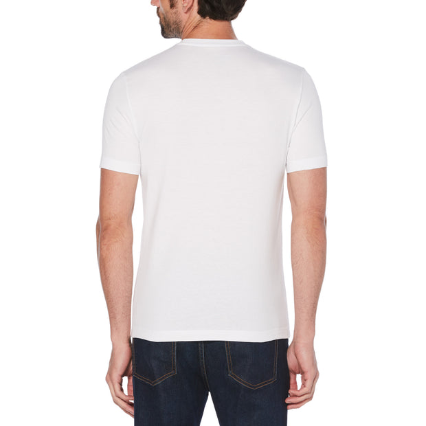 Palm Graphic Box Logo T-Shirt In Bright White
