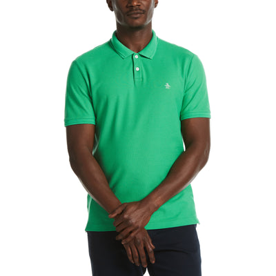 Eco Daddy Polo Shirt In Kelly Green