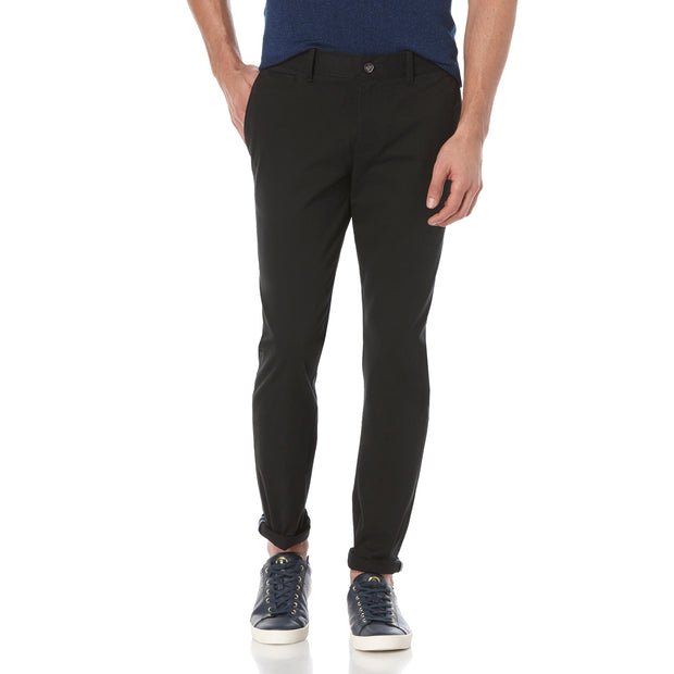 P55 SLIM FIT CHINO IN TRUE BLACK