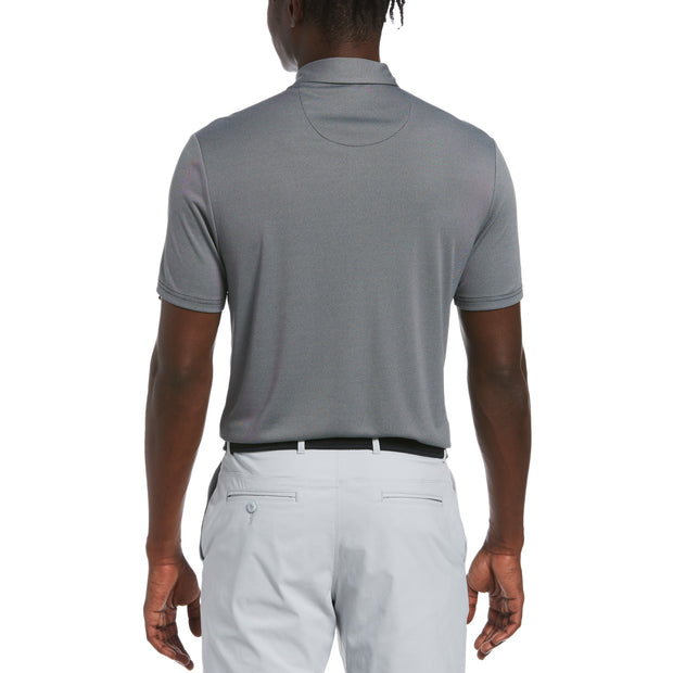Birdseye Golf Polo In Caviar