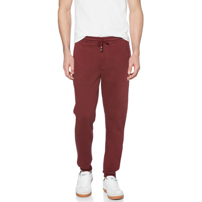 STICKER PETE FLEECE JOGGER IN TAWNY PORT