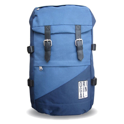 COLOUR BLOCK RUCKSACK IN DARK SAPPHIRE