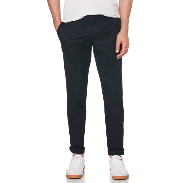 Premium Slim Fit Chino In Dark Sapphire