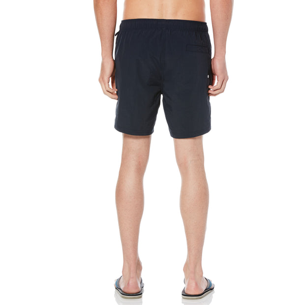 QUICK DRY DADDY SWIM SHORTS IN DARK SAPPHIRE