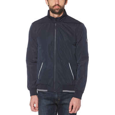 The Earl Sailing Jacket In Dark Sapphire