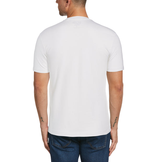 Open Road Photographic T-Shirt In Bright White