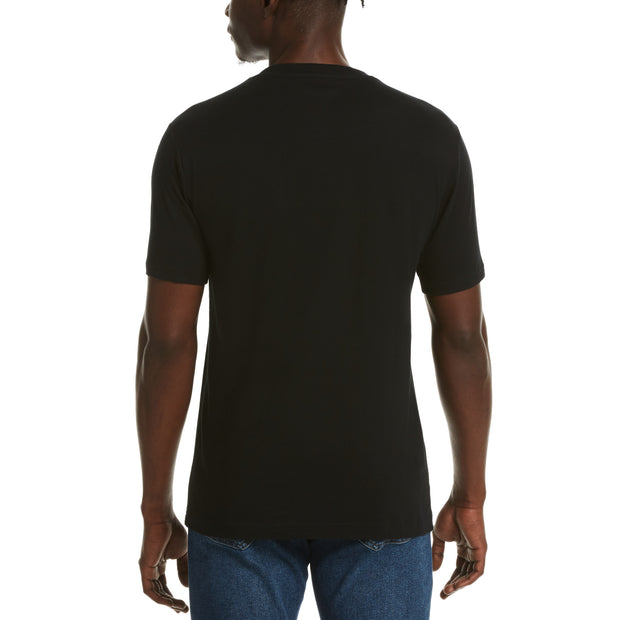JERSEY POCKET T-SHIRT IN TRUE BLACK